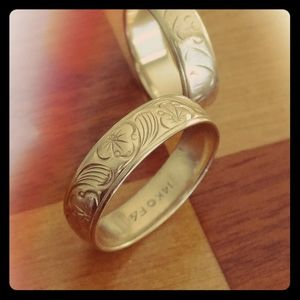 14 k Solid Gold Wedding Bands (his/her)